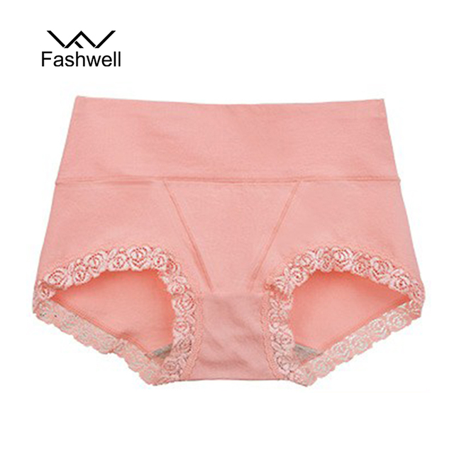 New Woman Underwear Cotton Sexy Lace Panties Briefs Ladies Seamless Breathable Intimates For Women
