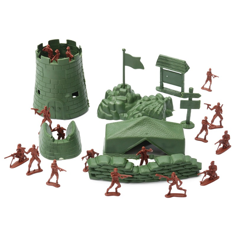 Best Toy And Model Soldiers For Kids : Pcs set military soldier toy kit army men cm figure