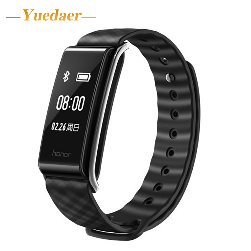 Huawei Honor A2 Smart Wristband 0.96 OLED Screen Heart Rate Monitor Show Message End Call IP67 Glory play Bracelet A2 huawei honor a2 smart wristband 0 96 oled screen heart rate monitor show message end call ip67 glory play bracelet a2