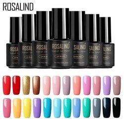 ROSALIND Nagel Gel Polnisch 7ML 58 Frische Farben Weg Tränken UV Hybrid Gel Nagellack Set Für Nail art maniküre für Nägel gel lack