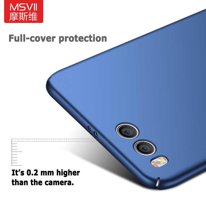 Msvii Шикарный чехол для спортивной камеры Xiao mi 6 Чехол для Xiaomi mi 6 pro Чехол жесткий с узором «Мороз» PC задняя крышка 360 полная защита M6 M 6 чехлов для телефонов
