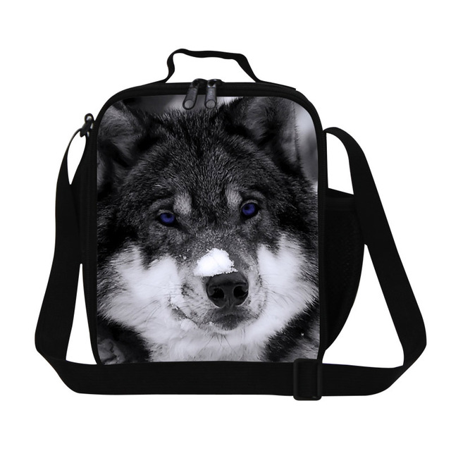 Best Wolf Lunch Bags For S Boys Cool Personalized Container Children Insulated Food