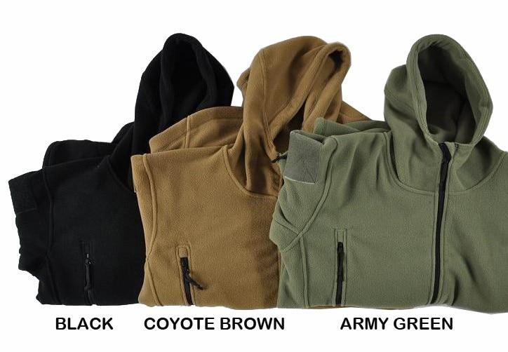 HTB1VeN9Kv5TBuNjSspmq6yDRVXa0 Military Man Fleece Tactical Softshell Jacket Polartec Thermal Polar Hooded Outerwear Coat Army Clothes
