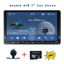 Autoradio Radio GPS Car DVD In Deck Video USB Player CD RDS HeadUnit Receiver Double Din Stereo 7″Touch Screen Audio