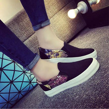 Spring New Arrival Woman loafers Driving Print Ladies Canvas Shoes Fashion Femal