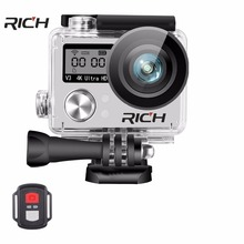 new S200DR dual screen 4K with 2.4G remote control wifi camera diving aerial ultra-thin outdoor sports camera DV waterproof