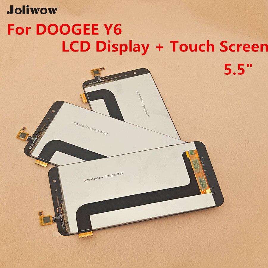 Para DOOGEE Y6 o Y6C Pantalla LCD y Digitalizador Asamblea de Pantalla Táctil +