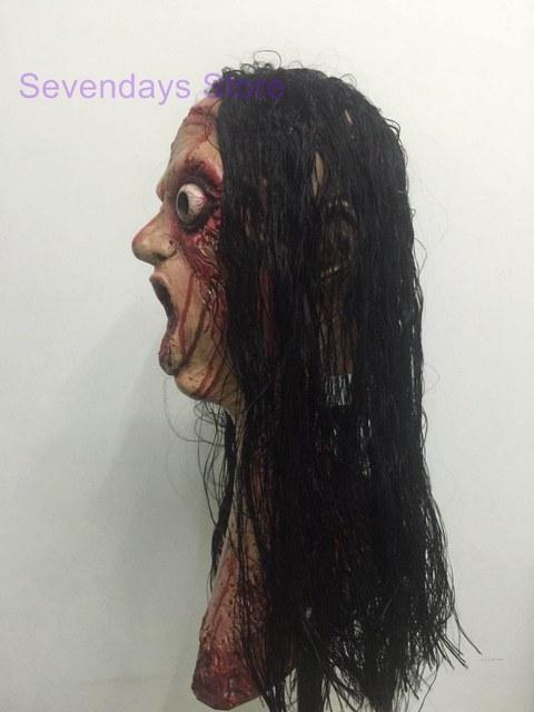 Halloween Full Head Face Breathable Fancy Latex Scary Horror Mask