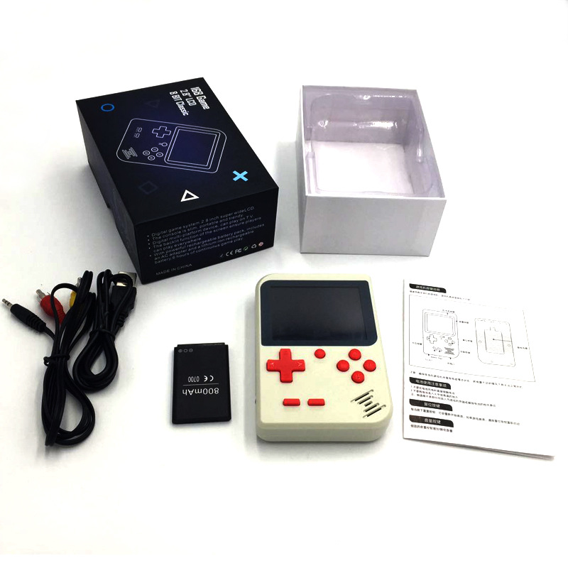 Portable Retro Mini Pocket Handheld Game Player 168 Classic Games Support TV Output Video Game Console Best Gift For Kids