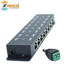 PoE Injector 8 Porta 48V 24V Aggiungere Power over Ethernet Per Qualsiasi Interruttore MikroTik Accessori
