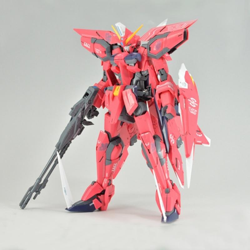 ФОТО Brand Daban Anime Cartoon Gundam Fighting Robot Assemble Model MG 1/100 Aegis Gundam Action Figure Toys Collection