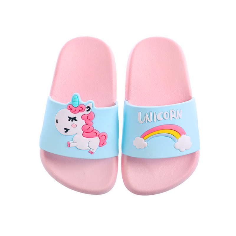 Kids Girls Boys Summer Slippers Children Flip Flops Barefoot Slipper Child Cartoon Unicorn Beach Shoes Swimming Slipper For BabyKids Girls Boys Summer Slippers Children Flip Flops Barefoot Slipper Child Cartoon Unicorn Beach Shoes Swimming Slipper For Baby