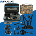 PULUZ 20 in 1 Go Pro Accessories Combo Kit with Camouflage EVA Case for GoPro HERO5 / HERO4 Session / HERO 5 / 4 /3+ / SJ4000