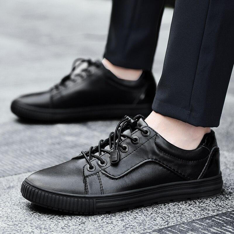 Mode Casual Chaussures Style Haute Rétro Nouveau Hommes Marque Lace Pour Walker Chaussures Noir Peak Hommes Up Black Qualité qFwOnH7