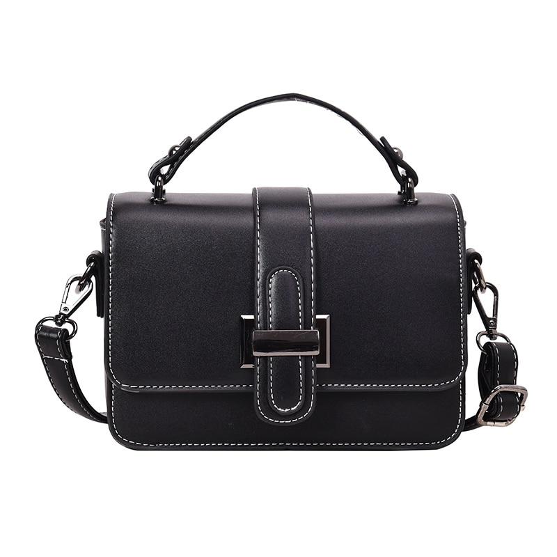 Luxury Handbags Women Bags Designer Chain Bag Women Messenger Bags Vintage Small Crossbody Bags For Women 2019 bolsa feminina in Top Handle Bags from Luggage Bags