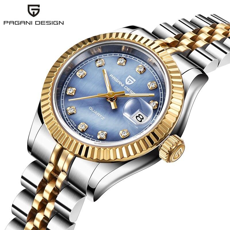 Nowe zegarki damskie PAGANI projekt Top marka luksusowe moda Sport zegarek dla pań sukienka wodoodporny zegarek kwarcowy Relogio Feminino w Zegarki damskie od Zegarki na  Grupa 2