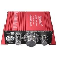 Hot Mini 2CH Hallo-fi Stereo Verstärker Booster Support-DVD CD MP3 Eingang für Auto Motorrad Hause