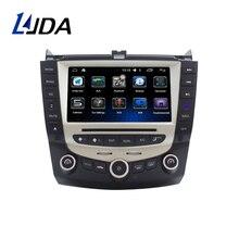 LJDA 7 дюймов 2 DIN Автомобильный dvd-плеер Android 6,0 для Honda Accord 2003 2004 2005 2006 2007 радио аудио Wi-Fi Canbus gps навигации BT