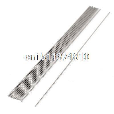 10 Pcs 0.7mm x 100mm HSS Grooving Tool Round Turning Lathe Bars Gray zcc ct toolbar crdnn2020k12 c type clamping tool holders external grooving turning lathe bar tool holder for lathe machine