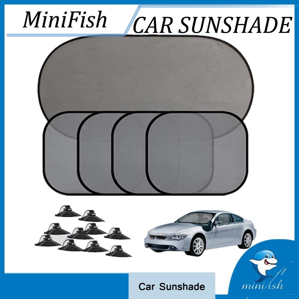 5 Pcs / Set Mobil Jendela Kerai Styling Mobil Meliputi Auto Sun Visor - Aksesoris mobil eksterior