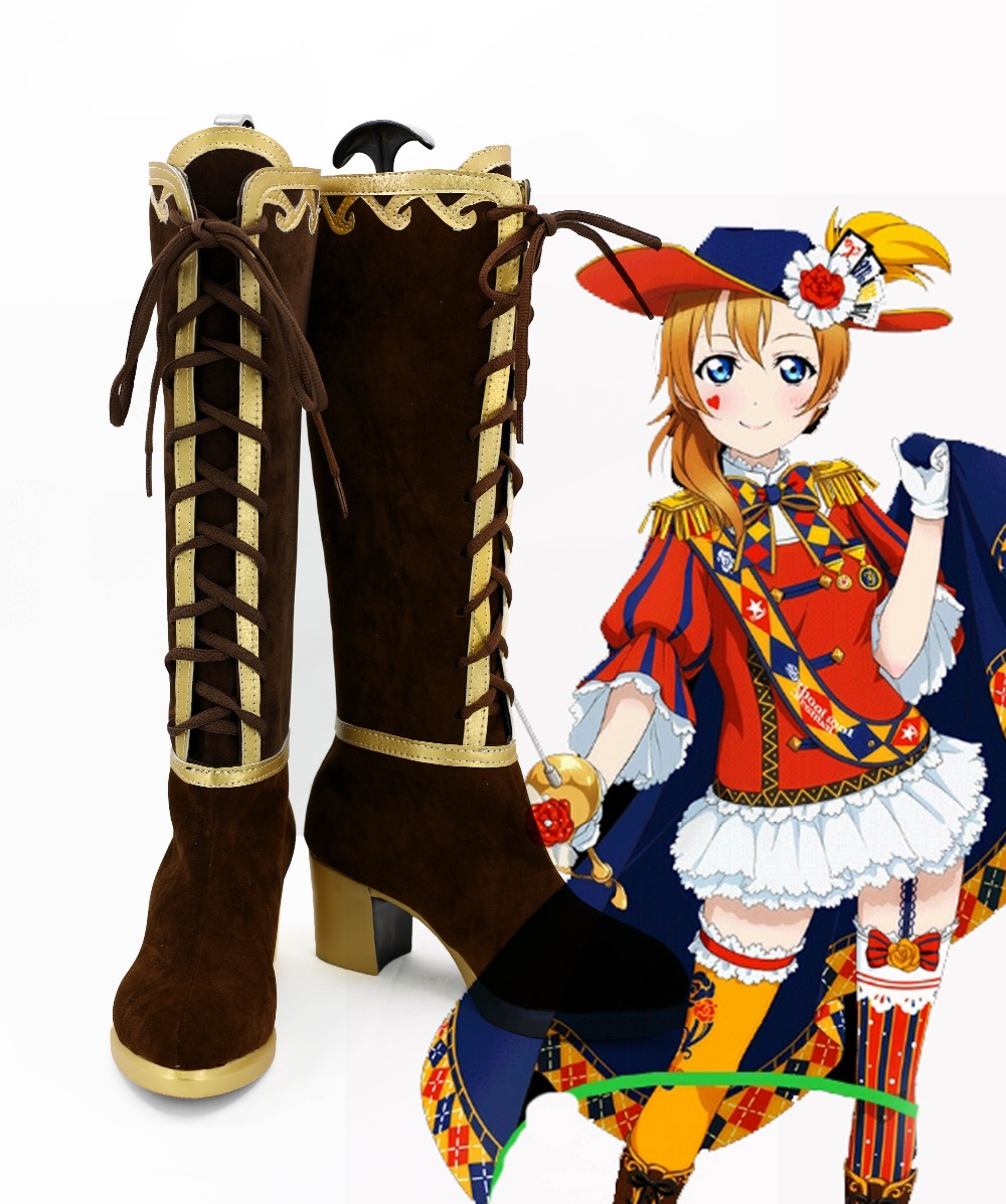 Lovelive Cosplay Maki Nishikino Eli Ayase Elli Cosplay Boots Shoes Custom Made Halloween Carnival