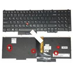 Angielski nowa klawiatura dla IBM dla Thinkpad P50 P50S P70 P70S klawiatury laptopa 00PA288 z podświetleniem