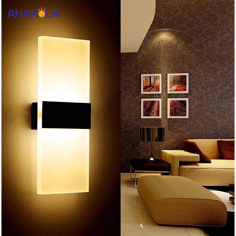 Modern Wall Light Led Indoor Wall Lamps Led Wall Sconce Lamp ...