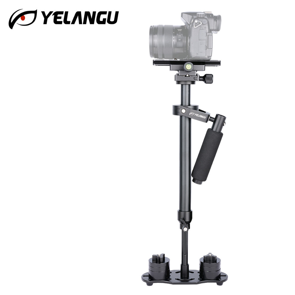 High Quality S60 60cm Professional Handheld Stabilizer for Camcorder Digital Camera Canon Nikon DSLR Video DV Mini Steadycam professional s60 66cm handheld camera stabilizer for camcorder digital camera canon nikon sony dslr mini steadycam t150 3