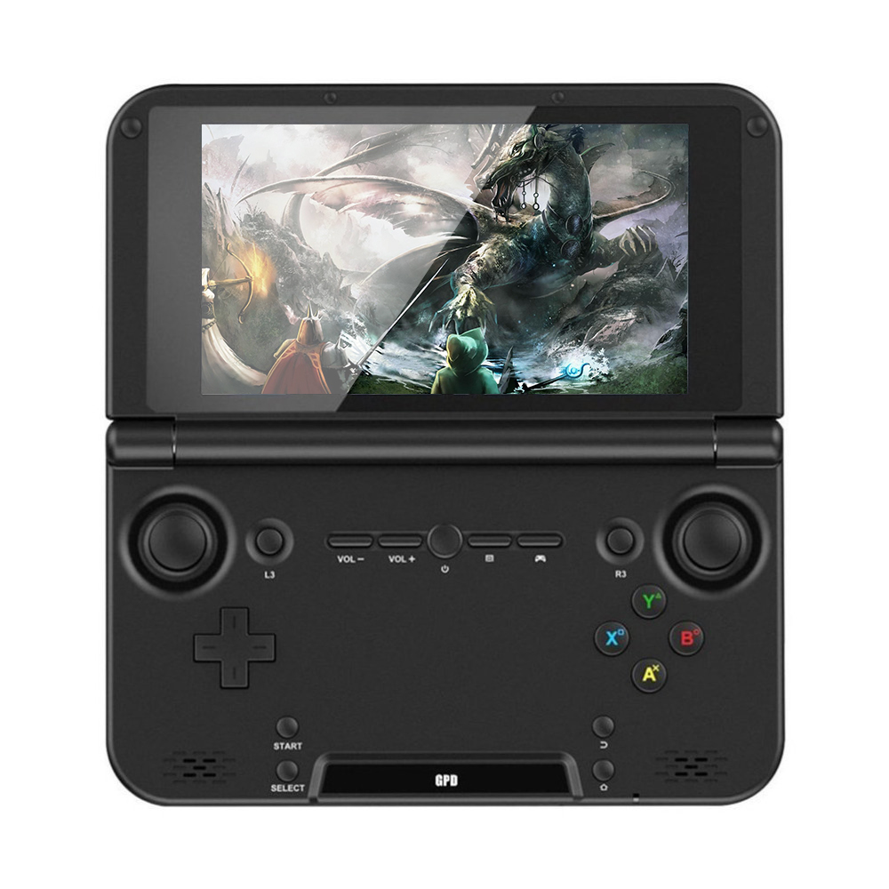 Portable Taille GPD XD PLUS 5 pouce Joueur de Jeu Gamepad 4 gb/32 gb MTK8176 2.1 ghz De Poche Jeu console Joueur de Jeu