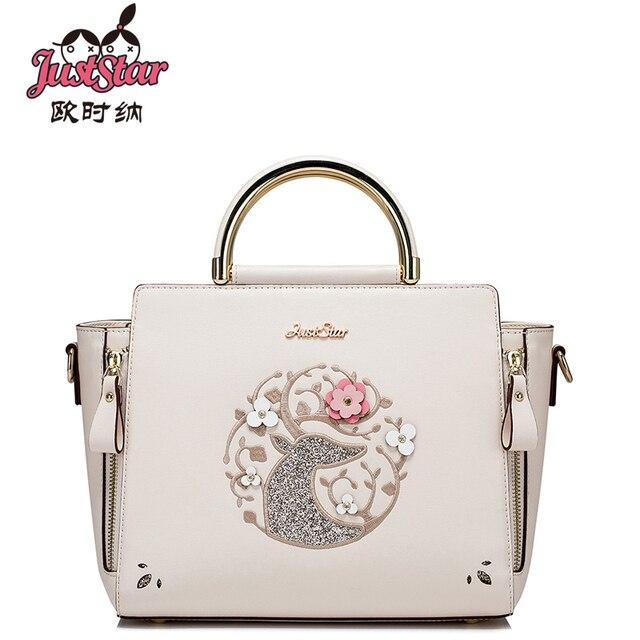 Just Star Fashion Women Bag Pu Leather Preppy Style Handbag Shoulder Bags Small Lady Messenger