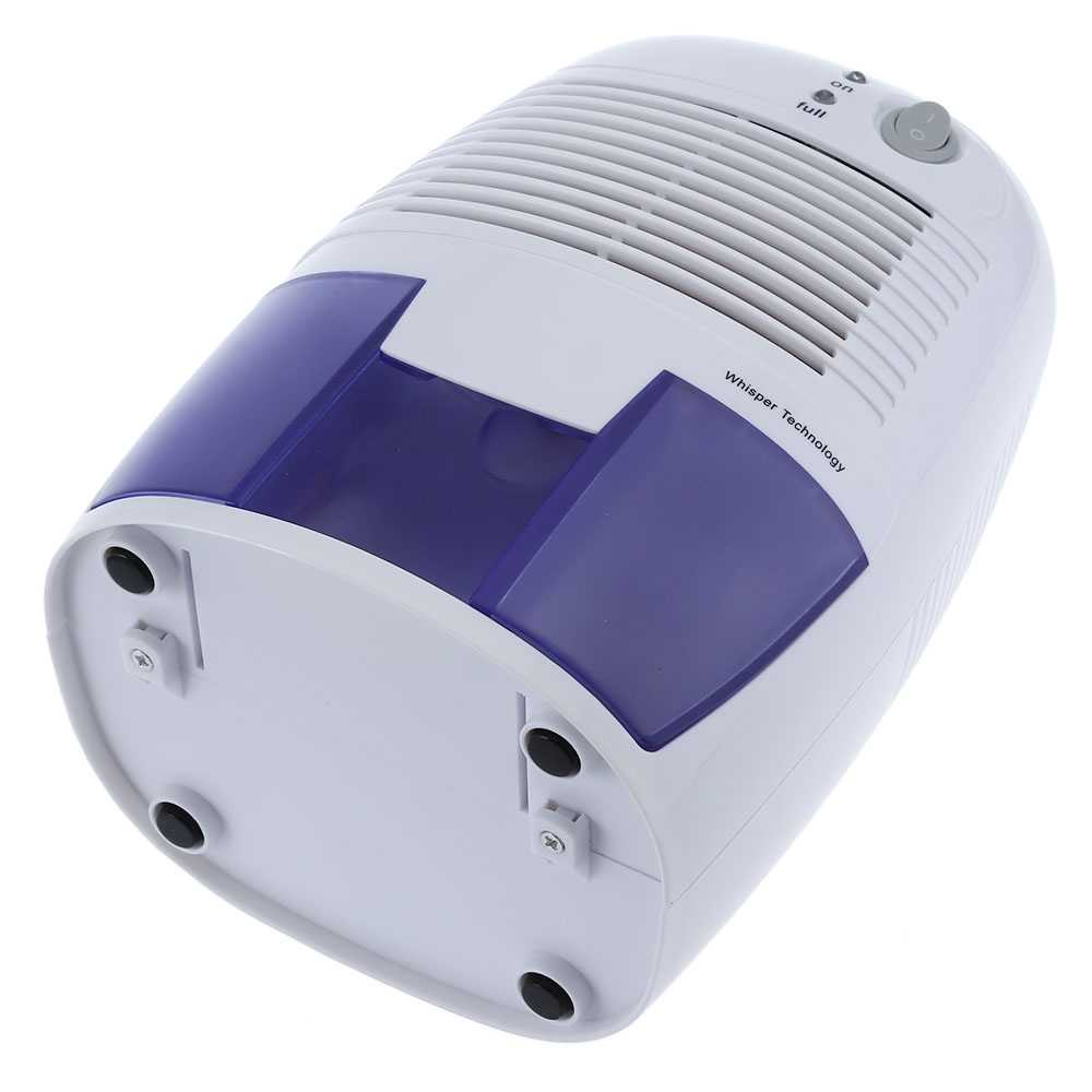 INVITOP ポータブル除湿吸湿剤ミニ空気除湿機 500 ミリリットルの水タンク空気家庭の台所寝室用