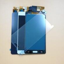Ограниченное предложение Для Samsung Galaxy A5 2015 A500 A5000 A500F A500FU A500M A500Y A500FQ сенсорный экран + ЖК-экран сборки/ закаленное стекло