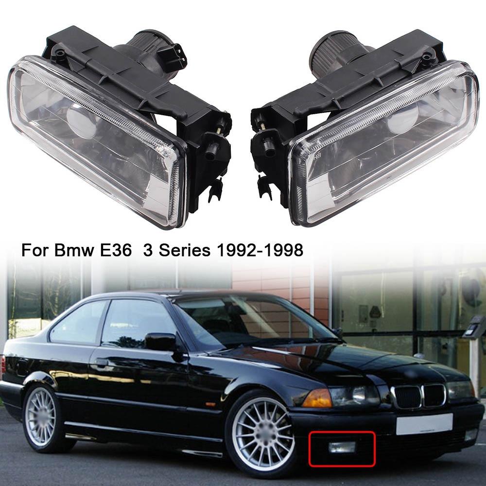 BMW E36 3 seriyası 2/4 qapılar modeli 1992-1998-ci illərdə - Avtomobil işıqları - Fotoqrafiya 1
