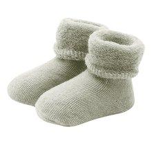 Фотография 0-2 Years Baby Girls Boys Winter Warm Boots Toddler Kids Soft Cotton Socks Booties Crib Shoes L1