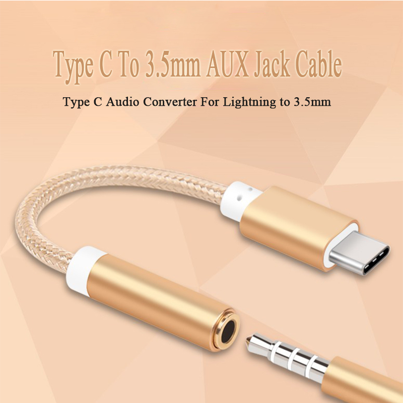 Digital Kabel Typ C Zu 3,5mm Aux Jack Kopfhörer Headset Kabel Adapter Usb C Audio Kabel Adapter Für Xiaomi Mi8 Mi6 Für Huawei P20 Mate 10 Pro Unterhaltungselektronik