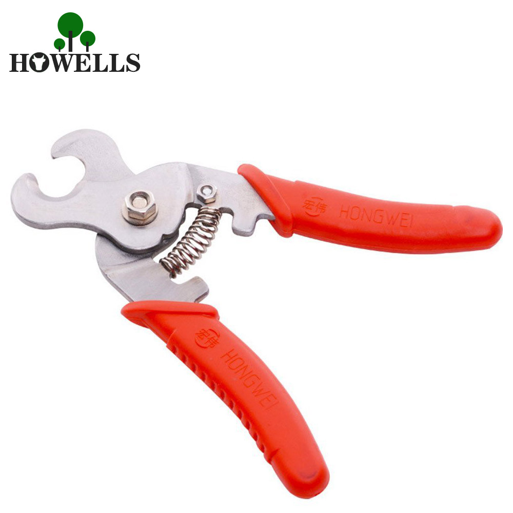 Stainless steel Ear Tag removal Plier Animal Tag remover Plastic Tag Cutter