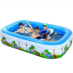 Image 4 - 2021 Infant &Childrens Inflatable Swimming Pool Large Family Swimming Pools Ocean Ball Pool Adult Bathtub Thickened