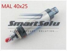 ТЗА 40-25 40×25 Алюминиевого Сплава Двойного Действия Пневматика Цилиндра