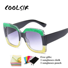 COOLSIR Fashion Square Baby Boys Girls Kids Sunglasses Brand Designer UV400 Vintage Cute Children Occhiali Per Bambini