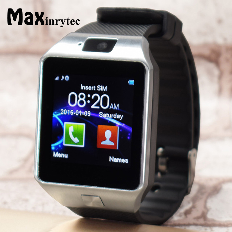 venta caliente online 025f4 d97b5 Reloj inteligente DZ09 Original reloj Digital para hombres para Apple  iPhone Samsung teléfono Android Bluetooth SIM TF tarjeta Cámara DZ09
