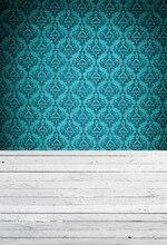 Горячие Продажи дамаск Искусство ткань Фотостудия Фонов ПК Окрашенные новорожденных стены Фон студии реквизит XT-3657