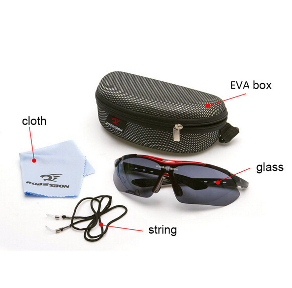 JOSPOWER Bicicleta Burra Ciklizmi për syze dielli syze dielli MTB - Çiklizmit - Foto 3
