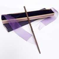 Colsplay New Arrive Metal/Iron Core Hermione Wand/ HP Magic Magical Wand/ Elegant Ribbon Gift Box Packing