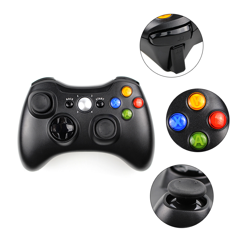 Image 3 - 3 in 1 2.4GHz Bluetooth Wireless Controller For Sony PS3 For Xbox  360 Console Game Joystick Controle For PC Win7 Win8 Win10wireless pc  game controllerpc controller wirelesswireless computer game controller