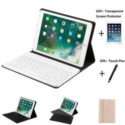 Дизайнерский кожаный чехол с Bluetooth клавиатурой для iPad Mini 1234 Air 1 2 iPad 2017 2018 9,7 Pro 10,5 11 дюймов Air 2019