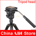 YUNTENG Professional Camera Hydraulic Pressure Fluid Tripod Head Fits for 5D Mark II 5DIII 700D 60D D7000 D610 D800 DSLR