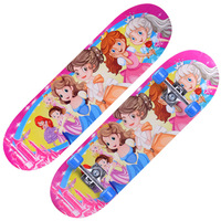 Hand Painted Skateboard Longboard Outdoor Play For Children Toy Gift