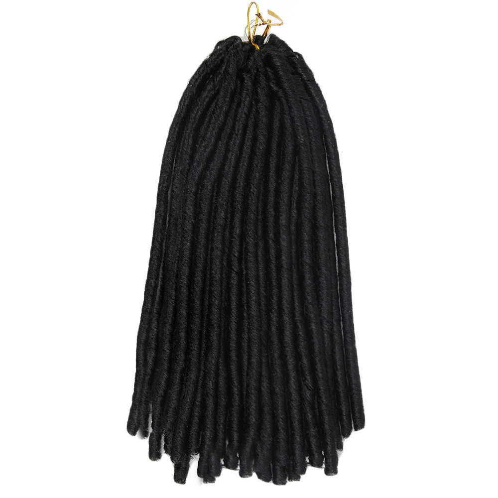 synthetic dreadlocks   black  kanekalon hair twist braids crochet braiding hair  synthetic braids hair xpression braiding hair