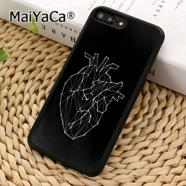 MaiYaCa medical anatomy Flip HEART Phone Case Cover For iPhone 5 5s 6 6s 7 8 X XR XS max Samsung Galaxy S5 S6 S7 edge S8 S9 plus