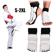1 Pair Adult Child Taekwondo Foot Protector Ankle Support Fighting Foot Guard Kickboxing Boot Foot Protect